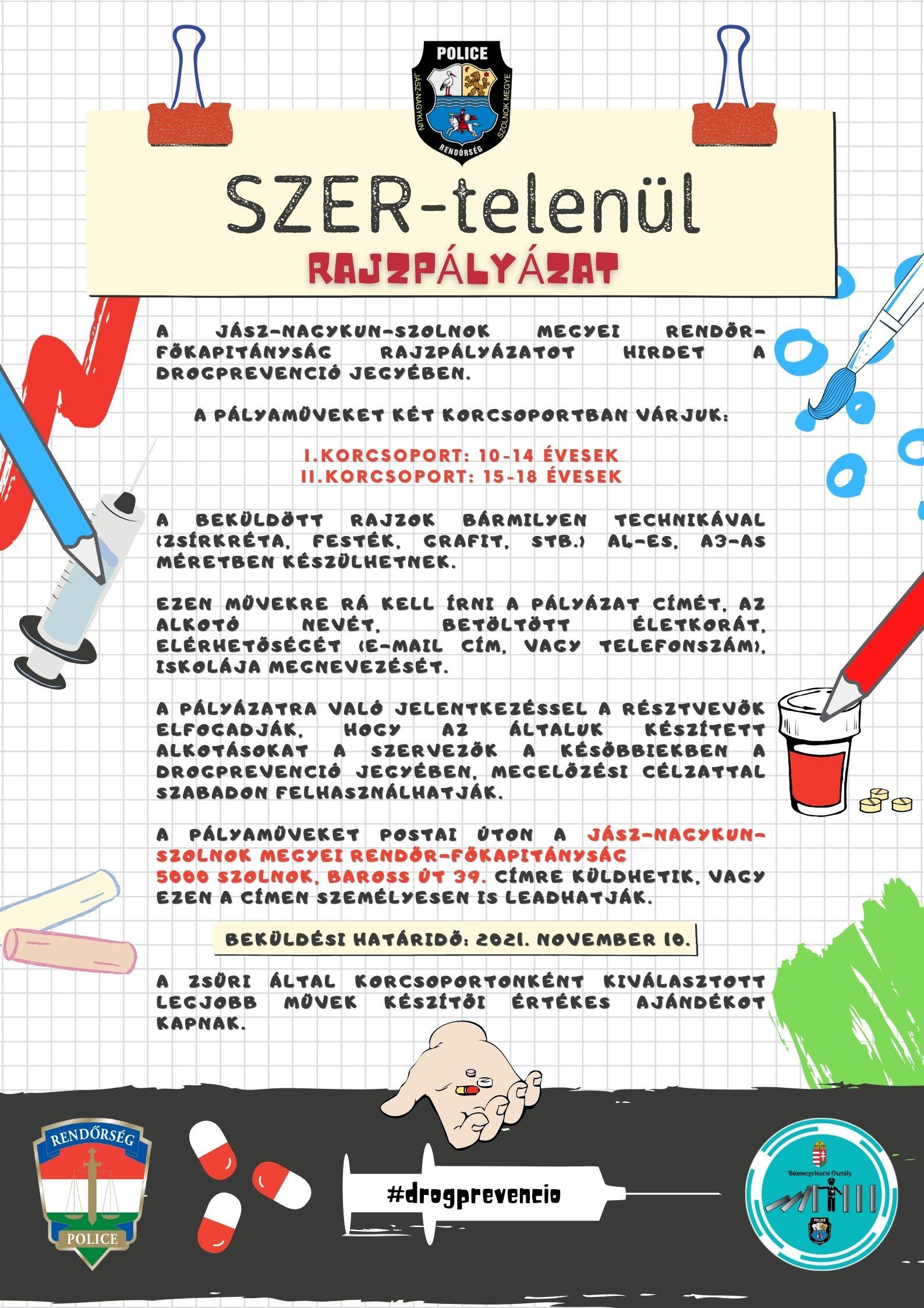 SZER-telenül rajzpályázat